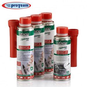 MATHY® Diesel - Kur  3x D 1x ID  Additiv Reiniger Systempflege Düsenreiniger