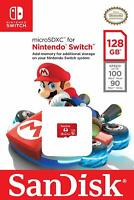 SanDisk 128GB micro SD XC Card MicroSDXC Flash Memory Nintendo Switch 128 GB