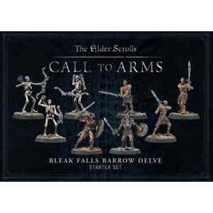 Modiphius - The Elder Scrolls Call to Arms Bleak Falls Barrow Delve Starter Set
