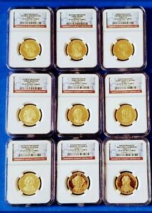 COMPLETE 39 SET PRESIDENTIAL GOLD COINS NGC PF69 ULTRA CAMEO L@@K!!!!