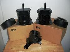 SET OF 3 ENGINE MOUNTS -- FITS: 1999 ACURA TL (3.2L, V6, 3210cc).
