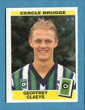 FOOTBALL 96 BELGIO Panini - Figurina-Sticker n. 95 -G. CLAEYS-C.BRUGGE-New