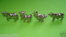 Personaggi in metallo completo set di animali domestici CROMO = TOP!!!
