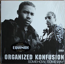 "ORGANIZED KONFUSION.   ""SOMEHOW, SOMEWAY""   33T LP"