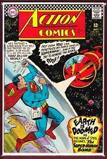 """DC_ACTION COMICS # 342_VFN_(1966)_""""THE SUPER-HUMAN BOMB!"""""""