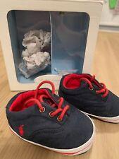 Ralph Lauren Baby Boys  Crib Shoes Size UK 2.5 RRP £45