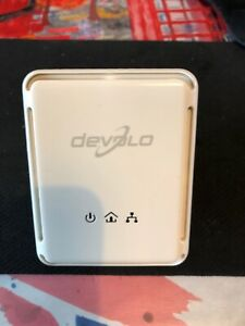 Single DEVOLO dLAN 200 AVmini POWERLINE ETHERNET ADAPTER - MT 2295