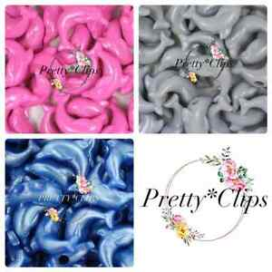 4 For 3 Dolphin Pony Beads 6x 25mm Craft