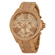 Michael Kors Wren Crystal Pave Dial Chronograph Ladies Watch MK6096-AU