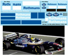 1/18 fw19 1997 williams renault Sponsor Decals TB Decal tbd169