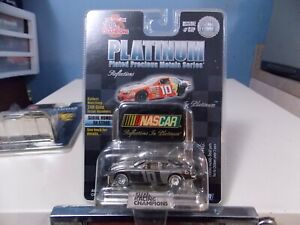 RACING CHAMPIONS NASCAR REFLECTIONS IN PLATINUM COLLECTOR RACE CAR