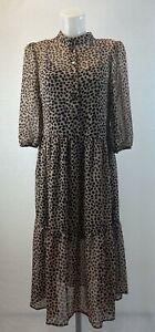 Ladies  ex new look midi dress dress size 8 10 12 14 16 18