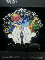 26478WDW - 4 Park Icons Mickey Hands 3D disney pin AB27