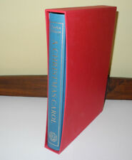 A Christmas Carol - Charles Dickens (Folio Society Illustrated 2003 HC Slipcase)