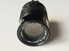 Canon FD 135mm F3.5 Manual Focus Prime Lens - Excellent Condition