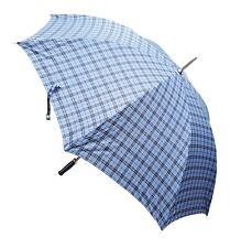 "Acclaim Azul Oscuro grandes cuadros tartán Panel Golf Estilo Paraguas 40 ""diseño B/30"