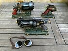 Colonel J. Fizziwigs collectable steampunk guns, three piece set w/ free goggles