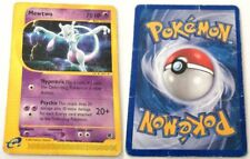 MEWTWO 56/165 SET EXPEDITION RARA CARTA POKEMON ENGLISH POOR