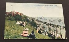 Postcard Westcliff-on-Sea Essex On The Leas Ships Celesque Photochrom 1732