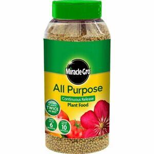 All Purpose Plant Fertiliser Granules Food Miracle Gro 1kg Slow Release Fruit
