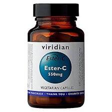 Viridian ESTER-C 550 MG 90 CAPSULE VEG