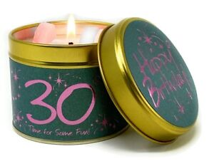 LilyFlame 30th Birthday candle FREE P+P