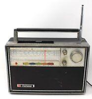 Solid State Craftsman Multi Band AC/DC Portable Transistor Radio Vtg Model 9333