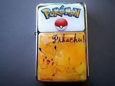 POKEMON STAR LIGHTER PIKACHU BOKEBALL FUNNY CUTE & EXTRA ZIPPO FLINTS