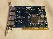 Belkin F5U220 REV:3 4 Port USB PCI Expansion Card - 4 External Ports - WORKS