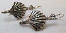 Shell Earrings* Vintage Sterling Silver