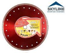 Red Ten SMI 7 Disc | Tradesman's Multipurpose Diamond Disc | 230mm | Turbo Rim