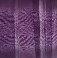 7mm Hand Dyed Silk Ribbon - 3 meters Violet