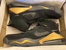 NWB Air Jordan Mars 270 Men's Athletic Sneakers Size 12 Black & Gold