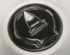 Fibra De Carbono efecto Gasolina tapón almohadilla cubierta para adaptarse a Ducati Panigale