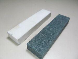 2 Schärfsteine für CBN- und Diamantschleifscheiben 100 x 24 x 13 mm