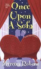 Once Upon  A Sofa (Zebra Regency Romance) Robens, Myretta Mass Market Paperback