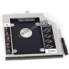9.5mm SATA3 2nd Hard Drive HDD SSD Caddy Tray for Thinkpad T440p T540p W540