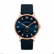 Marc by Marc Jacobs Ladies BAKER Leather Strap Watch MBM1329