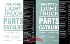TRUCK FORD 1998 PARTS MANUAL PART CATALOG BOOK PICKUP SERVICE REPAIR REPLACEMENT