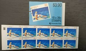 1989 Booklet $3.90 'Fishing' Sport Series 1 - Complete - FREE Post