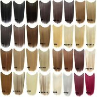Hidden Halo Invisible Wire Hairpiece Secret Miracle Straight Hair Extensions 50g