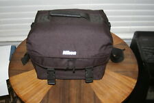 Nikon Deluxe Nylon Black Camera Bag Digital - SLR Camera Bag Adjustable Strap
