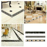 Parquet Marble Self-adhesive Baseboard Stickers Corner Floor Tile Decor Stickers