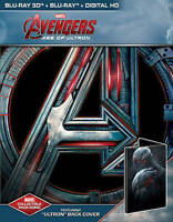 NEW Avengers Age of Ultron 3D + Blu-ray Steelbook Best Buy Exclusive Marvel