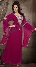 ELEGANT Moroccan Long Maxi Kaftan Dress Abaya Jilbab Islamic Kheleeji jalabiya16