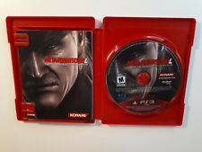 METAL GEAR SOLID 4 GUNS OF THE PATRIOTS Playstation 3 PS3 Complete CIB Good