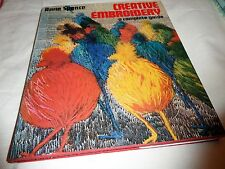 CREATIVE EMBROIDERY A COMPLETE GUIDE ANNE SPENCE HARDBACK 1975