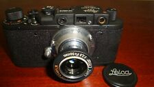 Russian Leica Copy D.R.P. ERNST LEITZ WETZLAR WW2 Vintage 35MM Camera SN146216