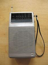 Vtg 70's Sears Roebuck & Co Portable Fm/Am Receiver Camp Radio