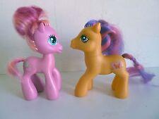 2 MON PETIT PONEY -My Little Pony - Scootaloo 2007 G3 + Pinkie Pie Mom 2008 G3,5